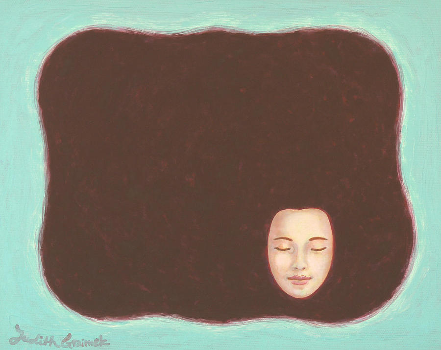 Void Painting - In The Void by Judith Grzimek