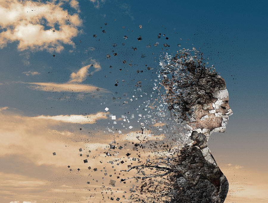 Creative Edit Photograph - In The Wind by Silvia Guillet