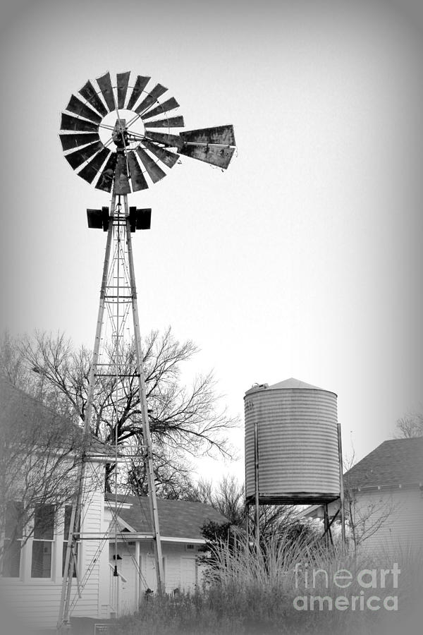 Windmills Of Your Mind Lyrics Photograph - In The Windmills Of Your Mind by Kathy  White
