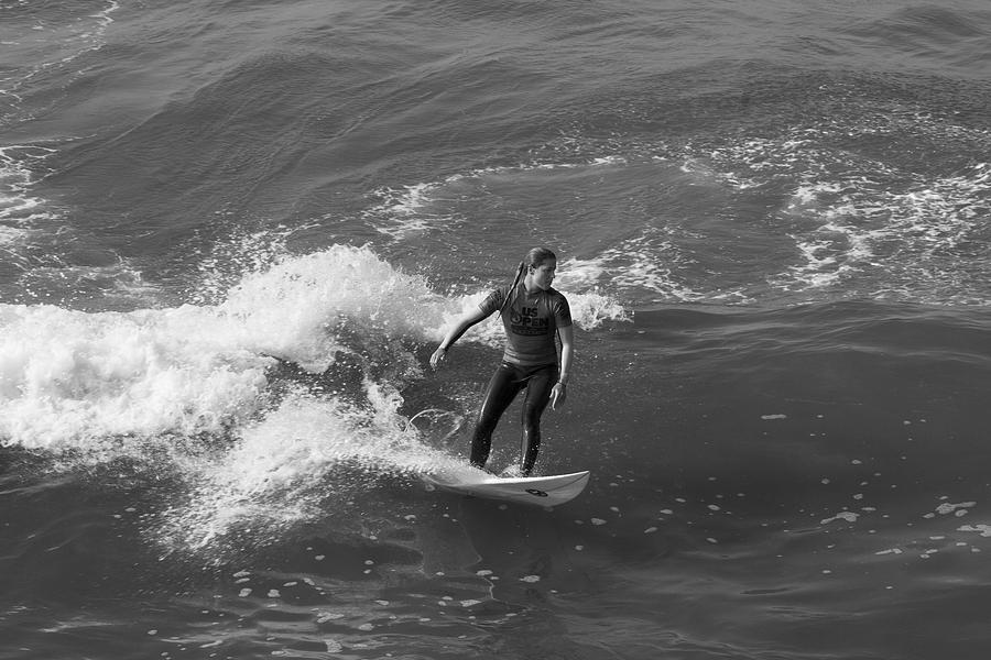 Surfing Photograph - In The Zone  by Tom Kelly