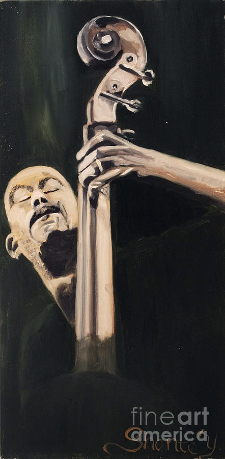 Musician Painting - In Tune by Shante Young