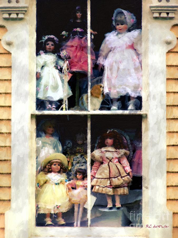 Dolls Painting - In Vitro by RC DeWinter