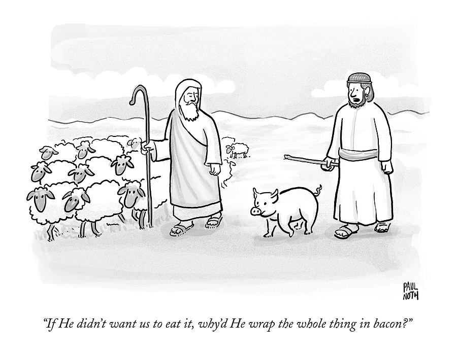 In What Appears To Be Biblical Times Drawing by Paul Noth