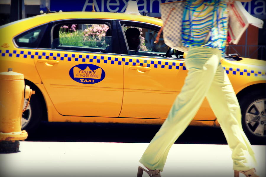 Yellow Photograph - In Yellow by Valentino Visentini