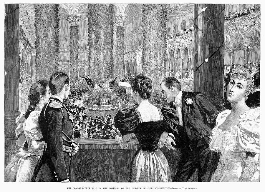 1893 Painting - Inaugural Ball, 1893 by Granger