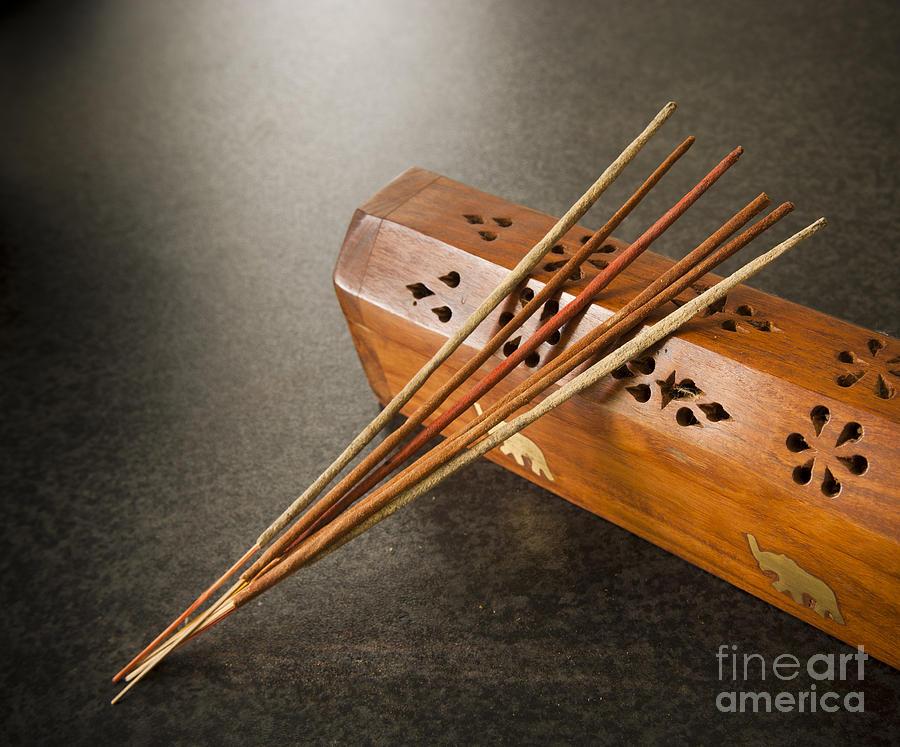 Incense Sticks Photograph