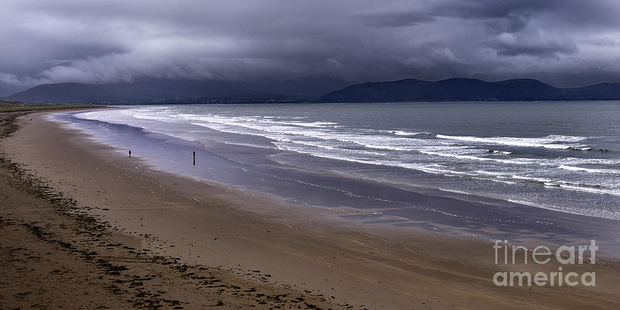 Seascapes Photograph - Inch Beach Co Kerry Ireland by Dick Wood