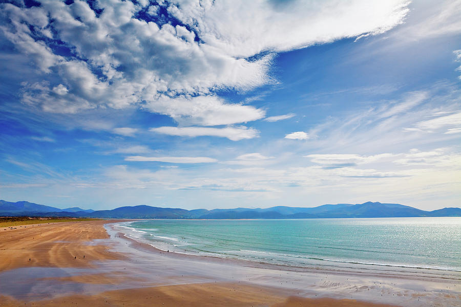 Horizontal Photograph - Inch Beach, Dingle Peninsula, County by Panoramic Images