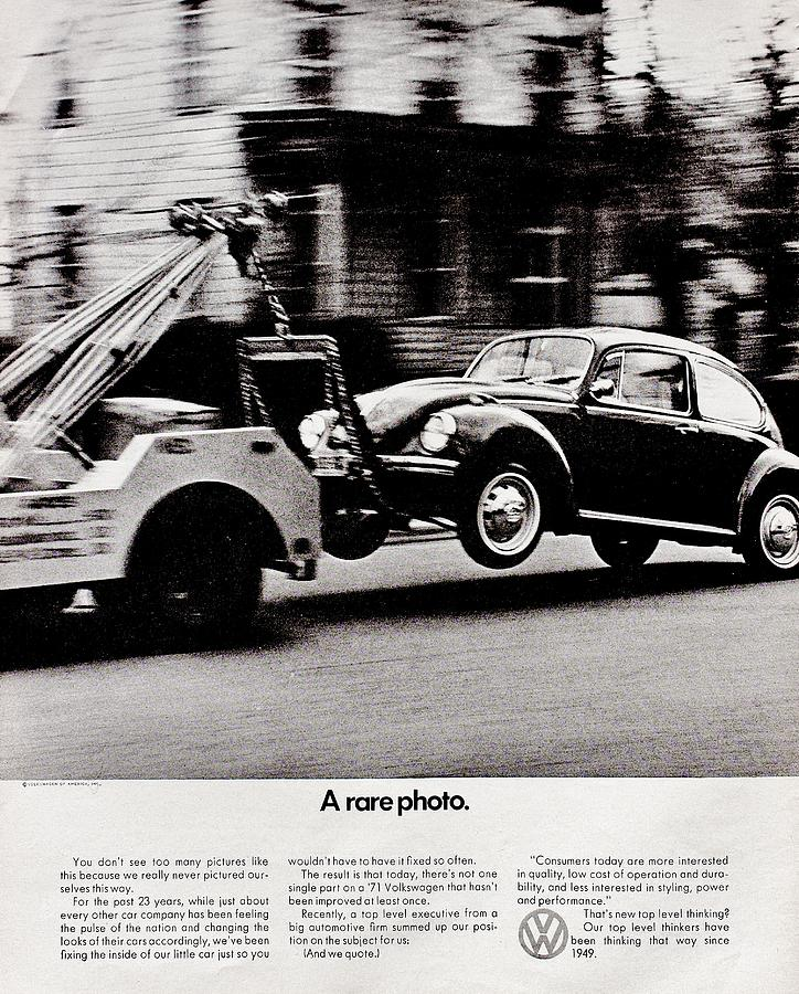 Volkswagen Photograph - Inconceivable by Benjamin Yeager