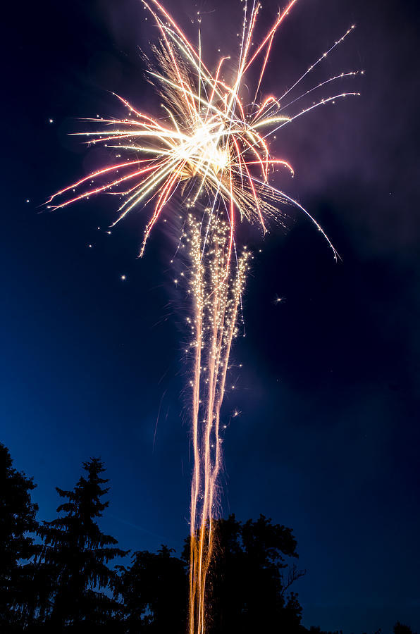 2014 Photograph - Independence Day 2014 7 by Alan Marlowe