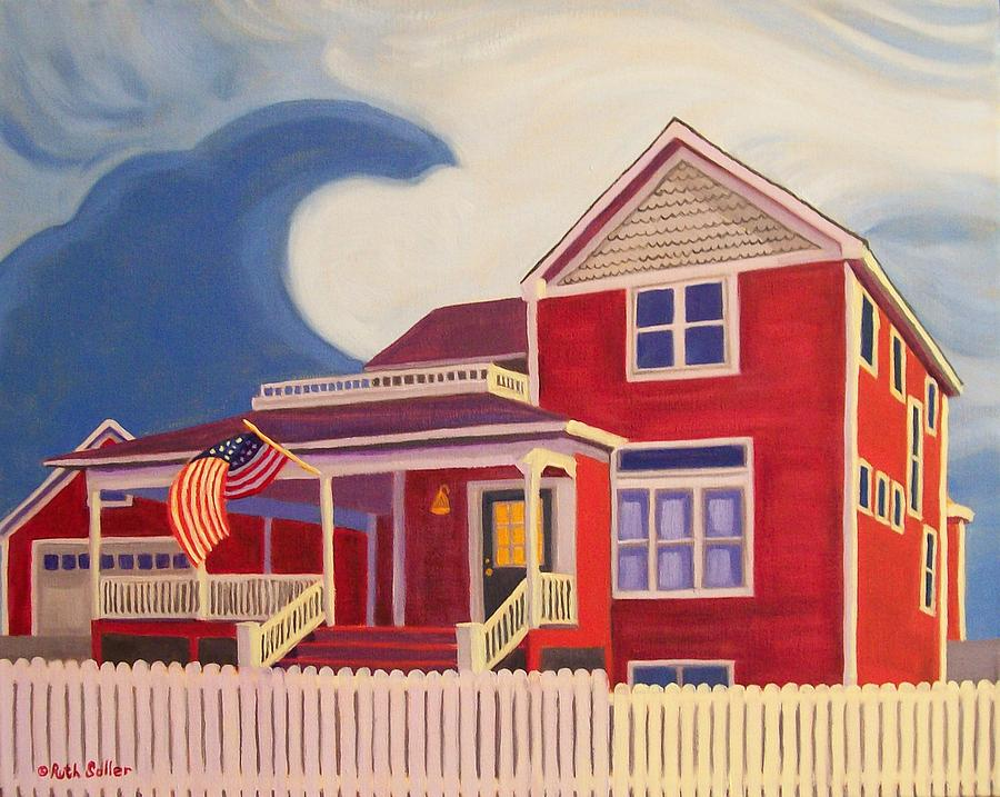 Ruth Soller Painting - Independence Day by Ruth Soller