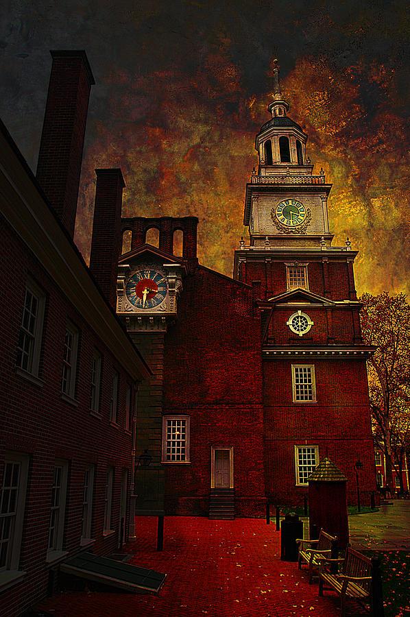 Philadelphia Photograph - Independence Hall Philadelphia Let Freedom Ring by Jeff Burgess