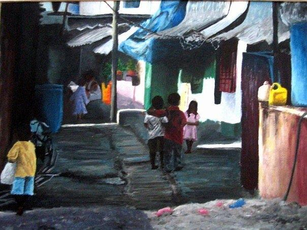 India Painting - India by Lauren  Pecor