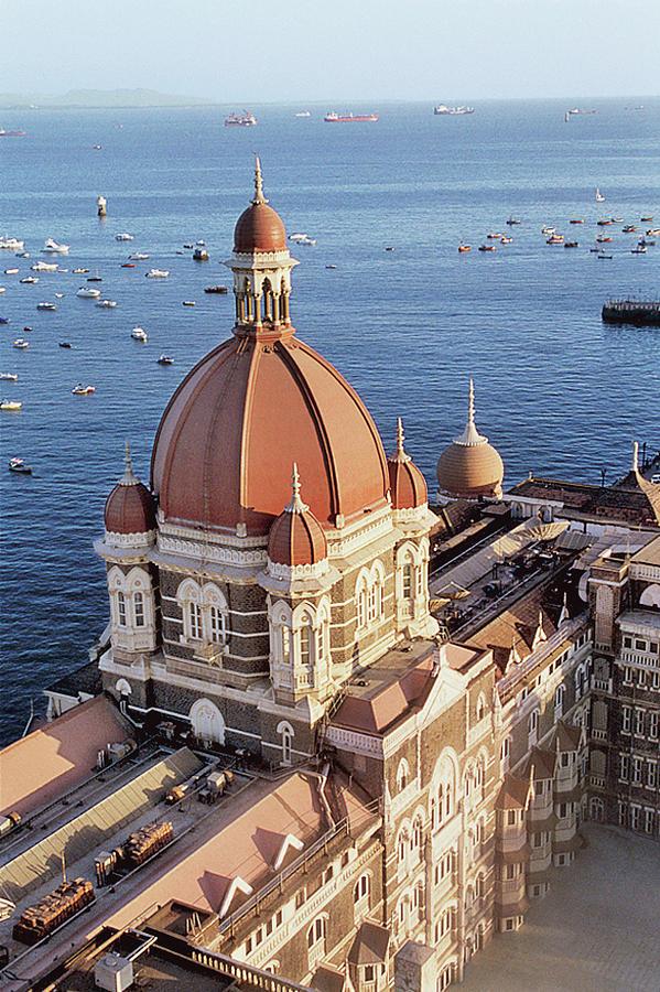 India, Maharashtra, Mumbai, View Of Taj Hotel Photograph by Tim Beddow