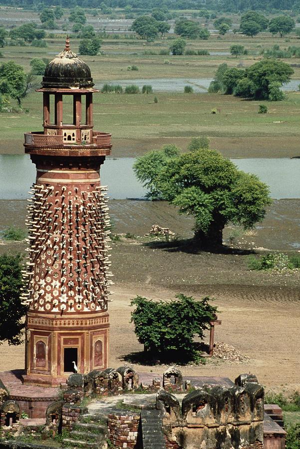 Architecture Photograph - India, Uttar Pradesh, Fatehpur Sikri by John and Lisa Merrill