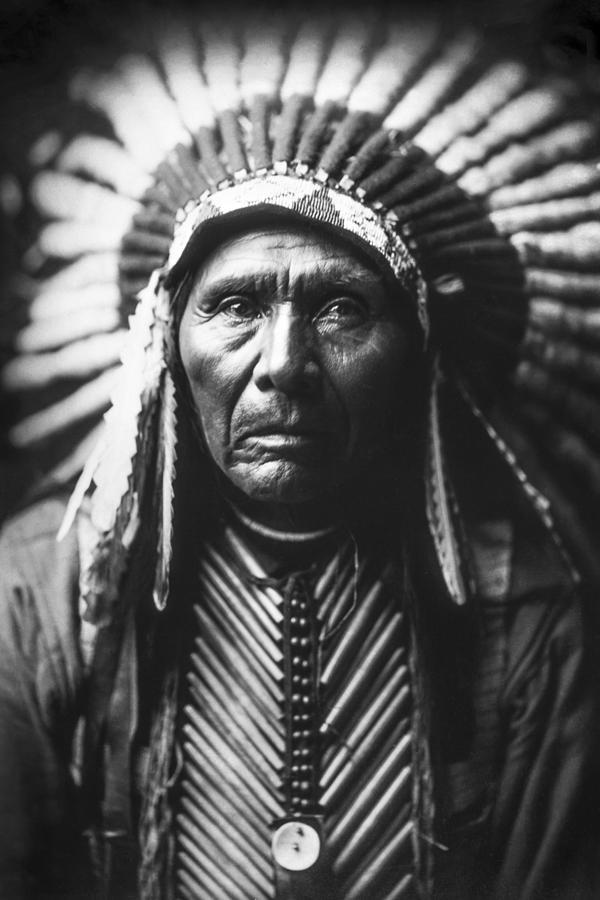 Indian Of North America Circa 1905 Photograph