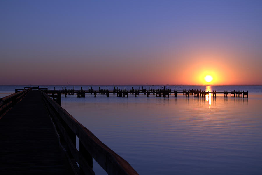 Florida Landscape Photograph - Indian River Sunrise by Brian Harig