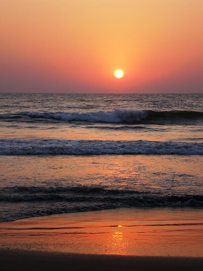 Indian Sunset Photograph by Ilse Maria Gibson
