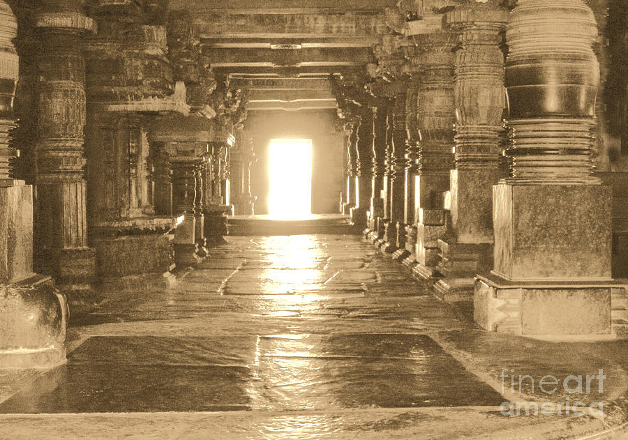 Indian Temple Photograph - Indian Temple by Mini Arora