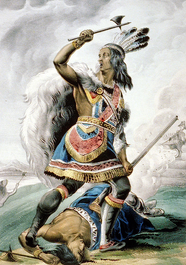 Indian Warrior Photograph By Unknown