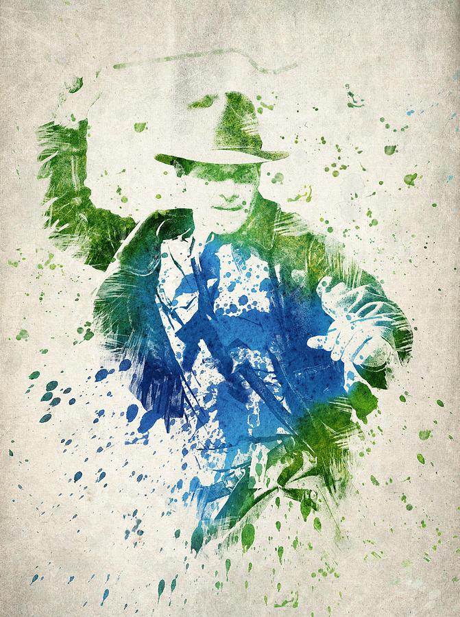Indiana Jones Digital Art - Indiana Jones  by Aged Pixel