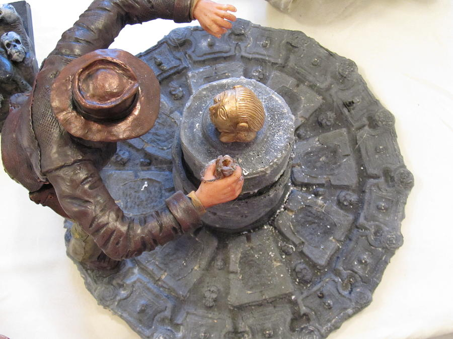 Action Hero Sculpture - Indiana Jones by Kevin Sexton