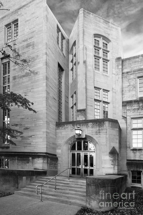American Photograph - Indiana University Bryan Hall by University Icons
