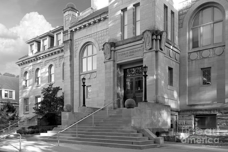 Indiana University Photograph - Indiana University Student Building Entrance by University Icons