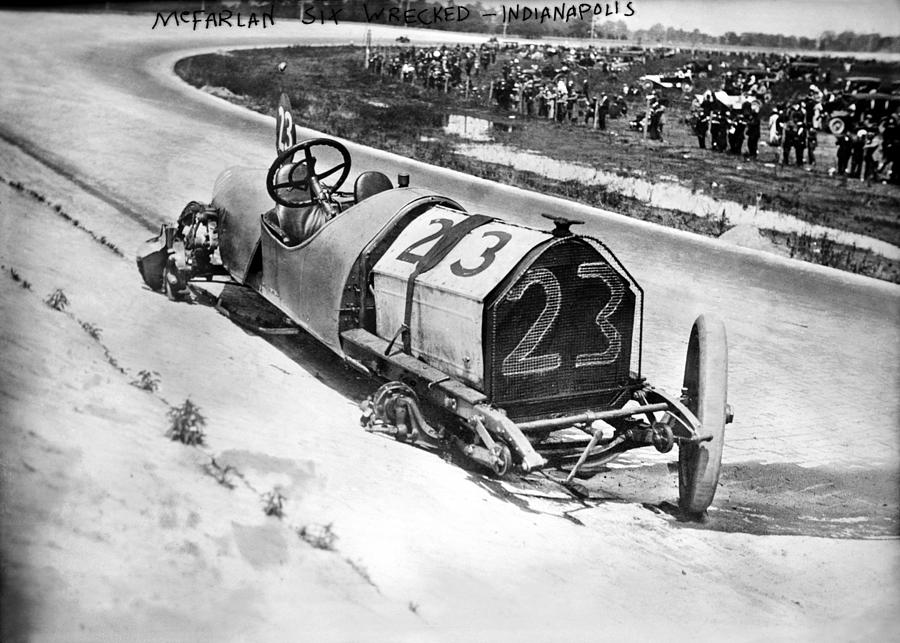 1912 Photograph - Indianapolis 500, 1912 by Granger