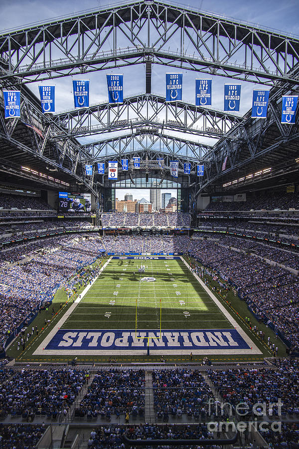 Indianapolis colts 2 photograph by david haskett for Indianapolis painting company