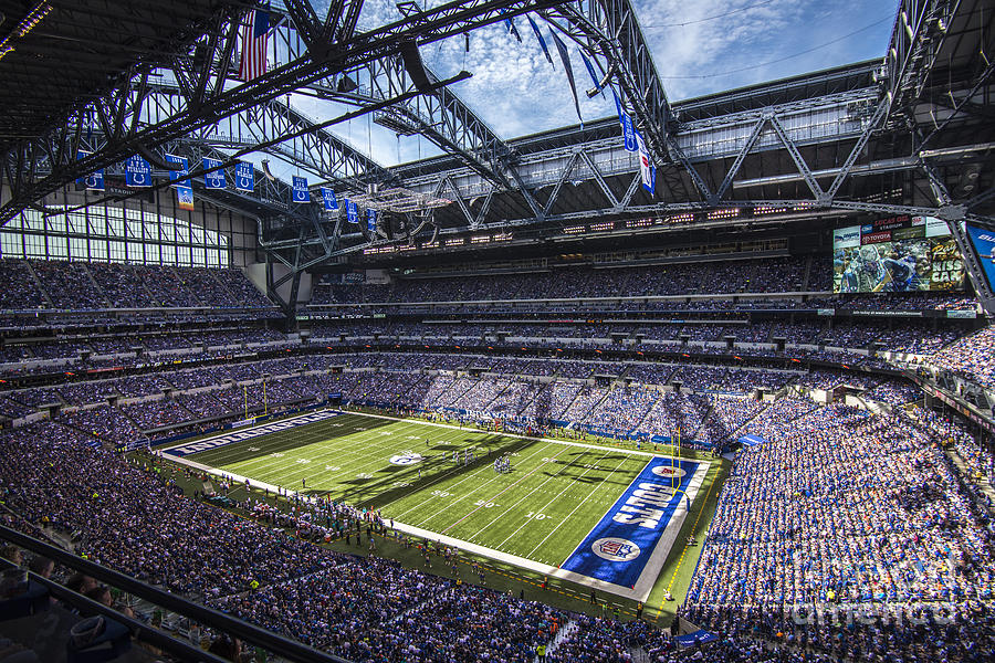 Indiana Photograph - Indianapolis Colts 3 by David Haskett