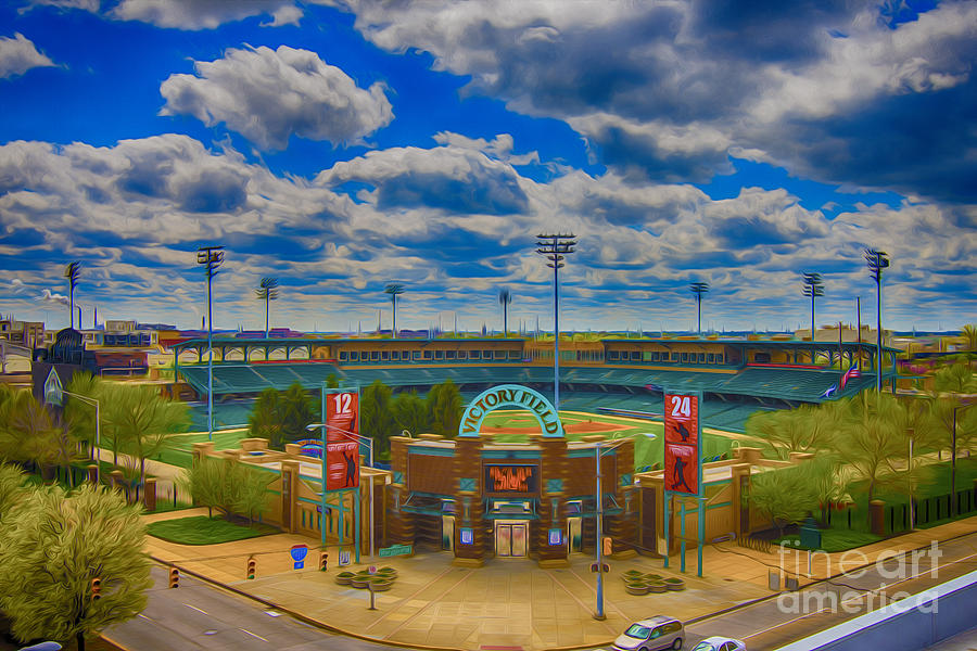 Indianapolis Photograph - Indianapolis Indians Victory Field by David Haskett