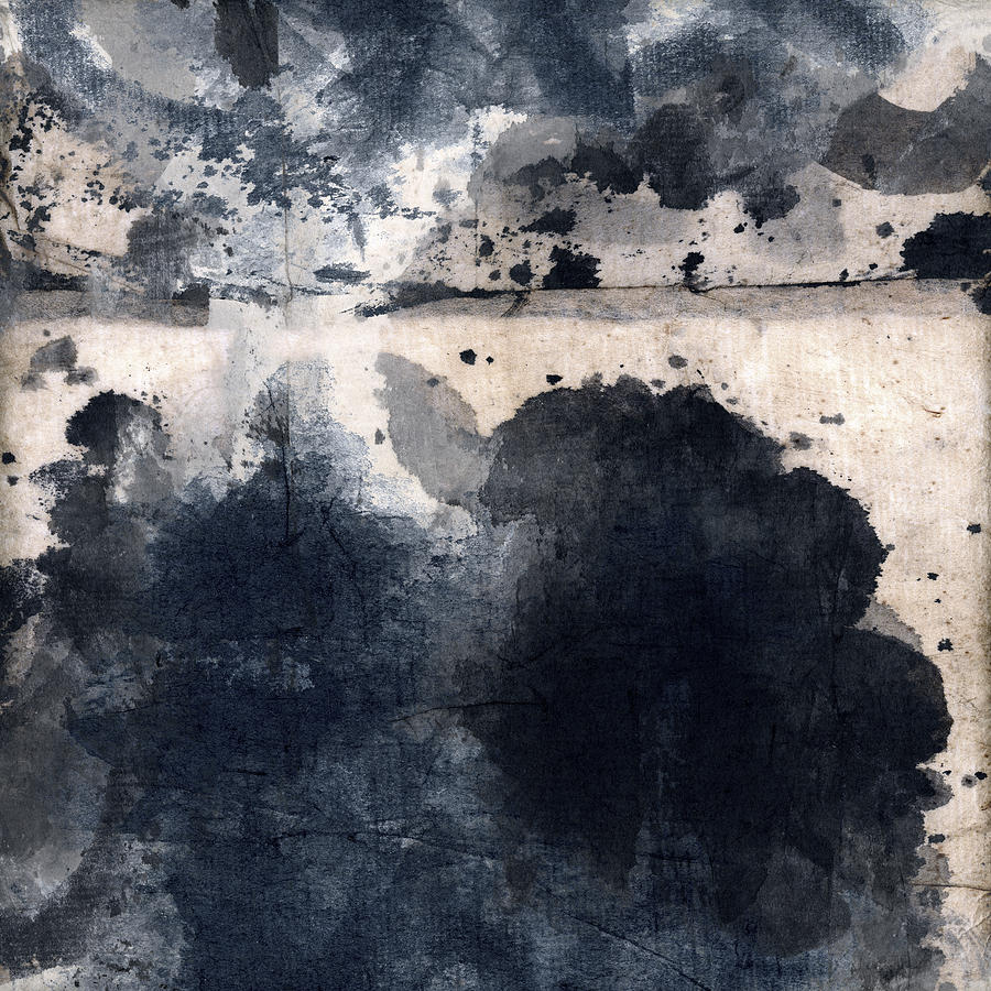 Indigo Photograph - Indigo Clouds 4 by Carol Leigh