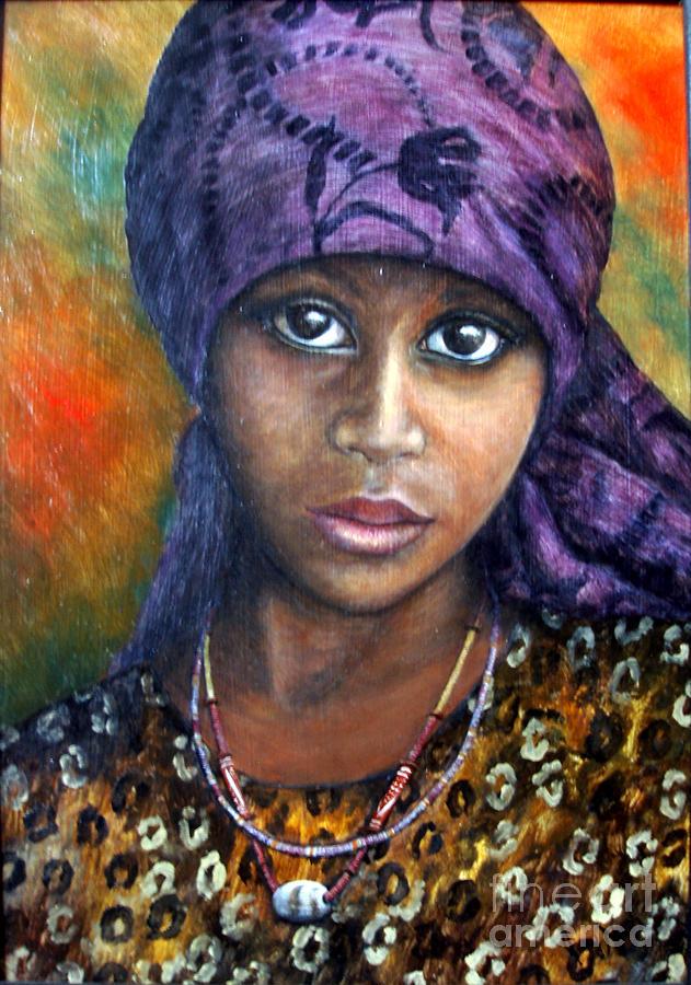 Indigo Painting - Indigo Dreams by Joey Nash