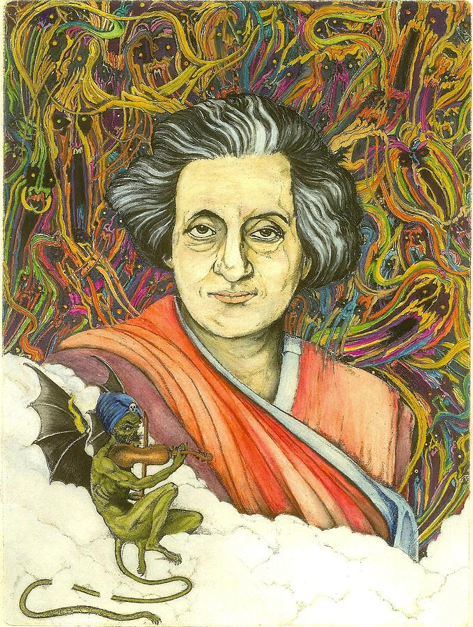 Indira Gandhi by James Oliver