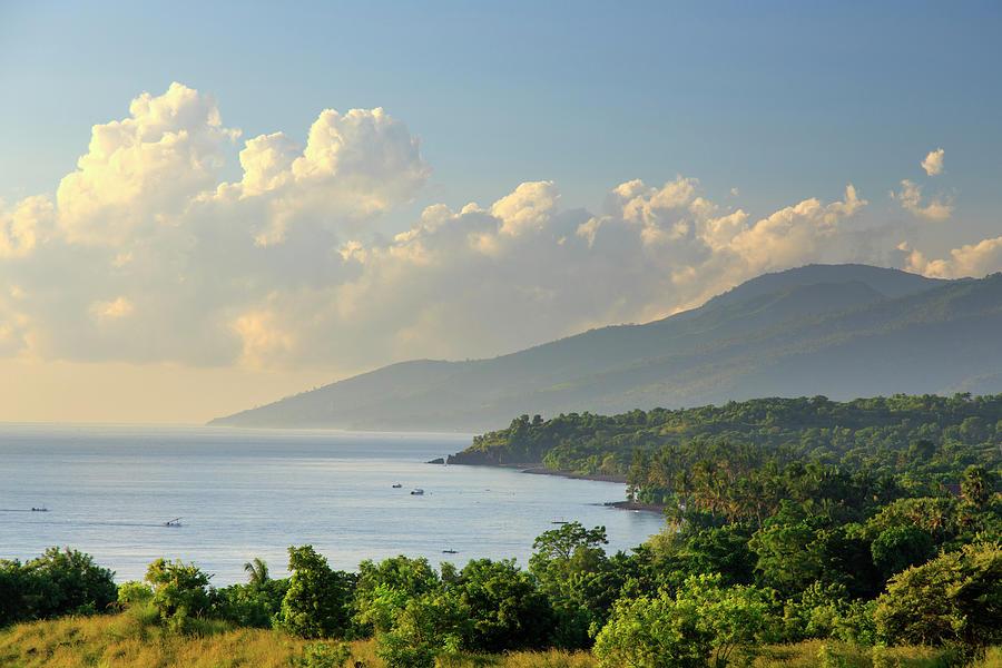 Indonesia, Bali, East Bali, Tulamben Photograph by Michele Falzone