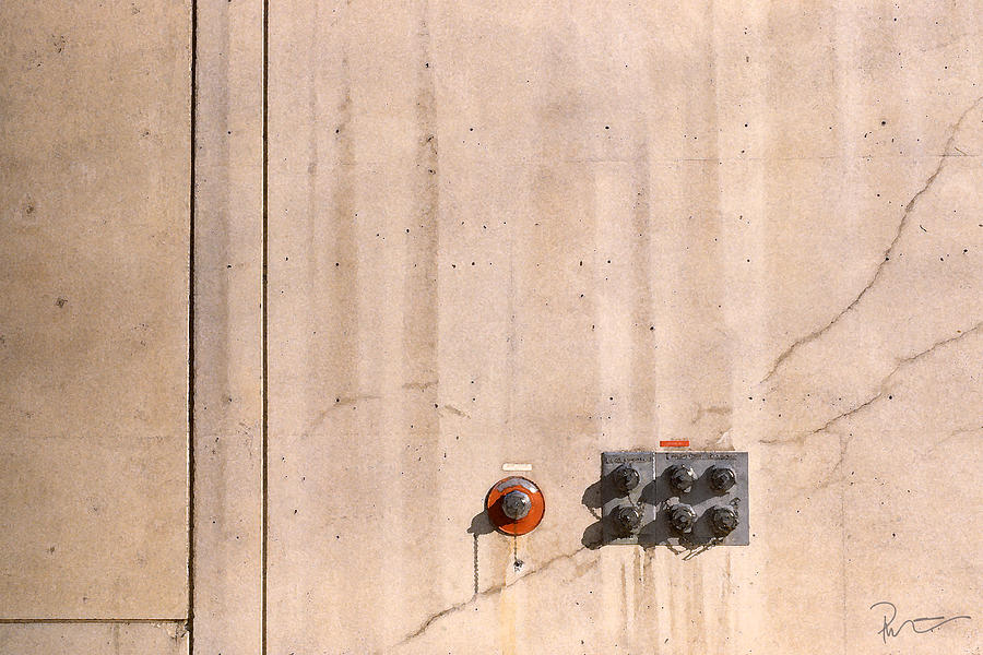Wall Photograph - Industrial 6 by Stephen Prestek