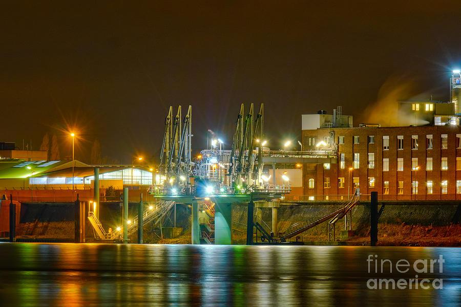 Industrial Docklands Photograph
