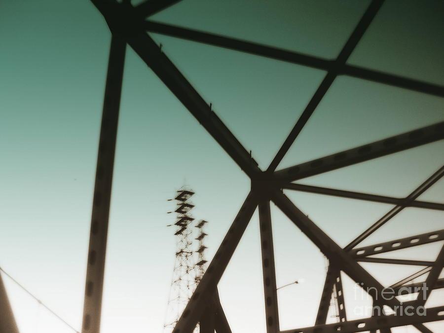 Bridge Photograph - Industrial IIi by A K Dayton