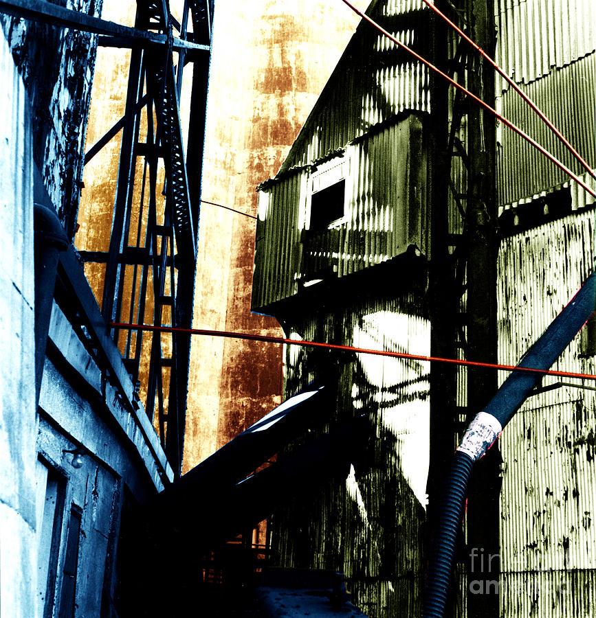 Industrial Landscape Photograph - Industrial Landscape by Sandy MacNeil