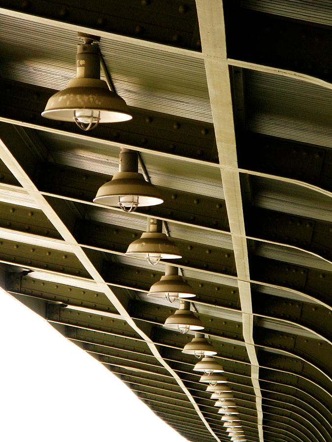 Industrial Light Photograph - Industrial Lights by Randi Kuhne