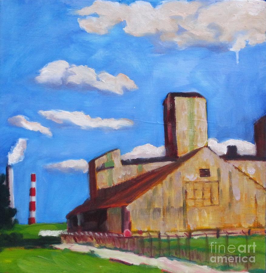Industrial Plein Air by Katrina West