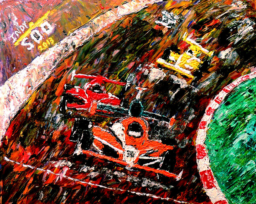 Indy 500 Painting - Indy 500  by Mark Moore