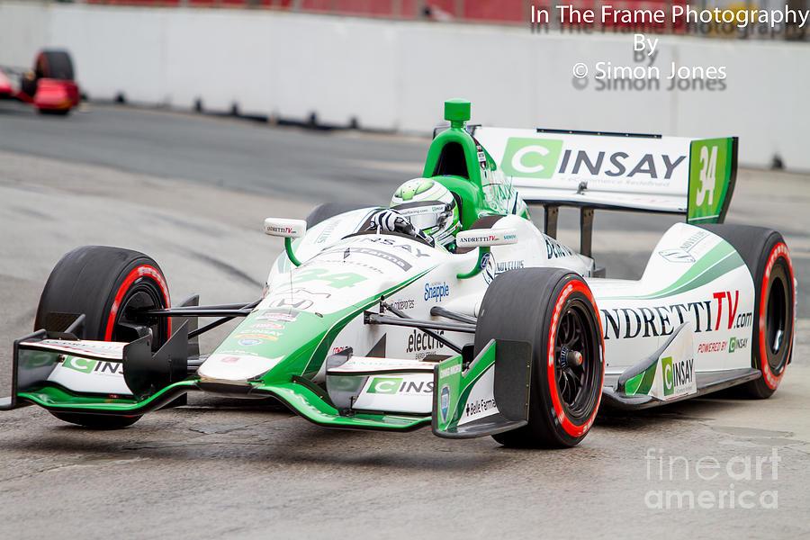 Indy Car  Photograph by Simon Jones