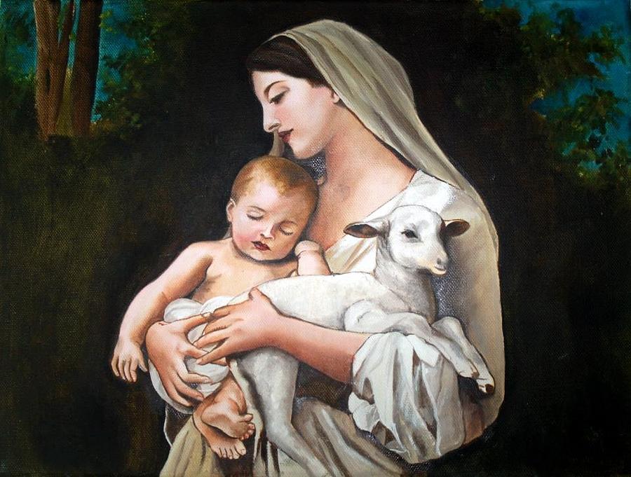картинка младенец христос все