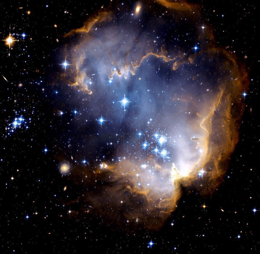 Space Photograph - Infant Stars by Amanda Struz