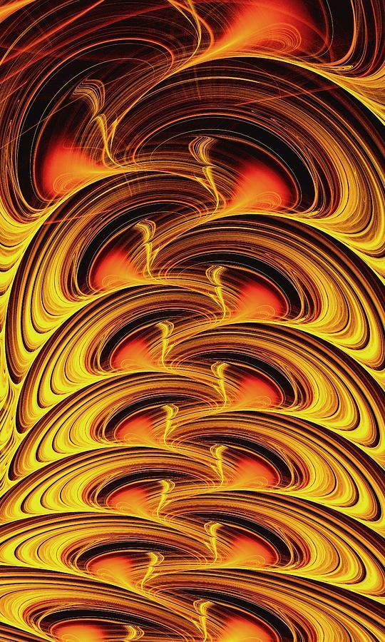 Computer Digital Art - Inferno by Anastasiya Malakhova