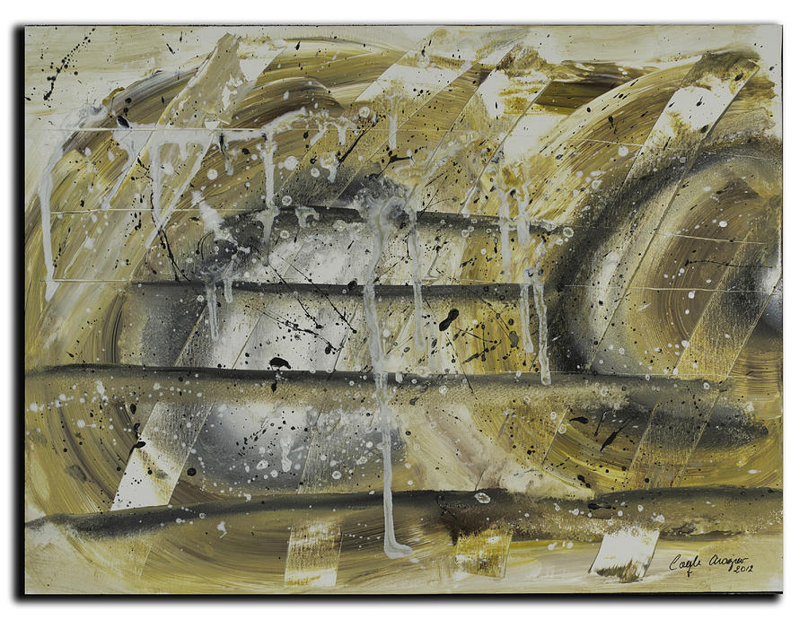 Original Painting - Infinite by Coqle Aragrev