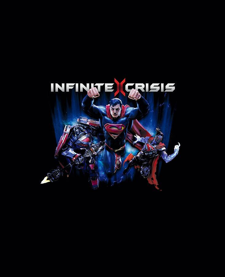 Infinite Crisis - Ic Super Digital Art by Brand A
