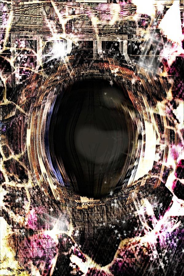 Eye Painting - Infinite Depth Of Dreamers Eye by Shawna Cheatham